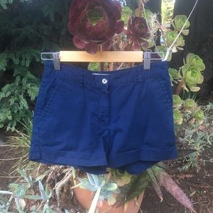 Forever 21 Essentials Cotton Navy Shorts